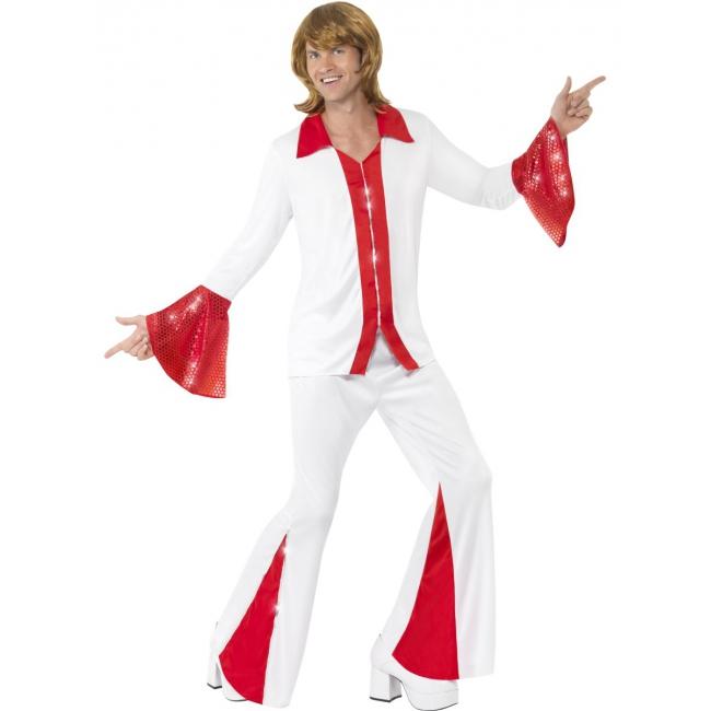 Disco kostuum voor heren Super Trooper bij Speelgoed